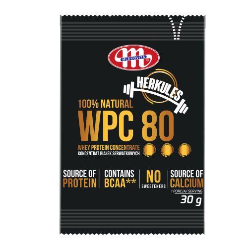 Koncentrat białek serwatkowych WPC 80 Herkules 30 g