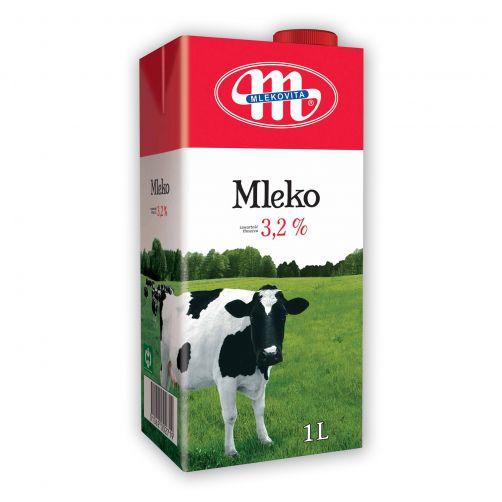 Mleko UHT 3,2% tłuszczu 1 L