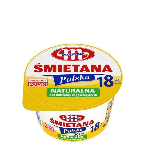 Śmietana POLSKA 18% gęsta 200 g