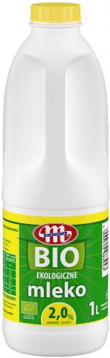 BIO ekologiczne mleko 2% 1 l