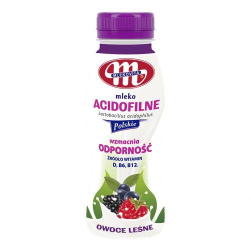Mleko acidofilne owoce leśne 250 g