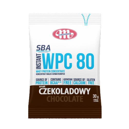 Super Body Active WPC 80 koncentrat białek serwatkowych instant czekoladowy 30 g