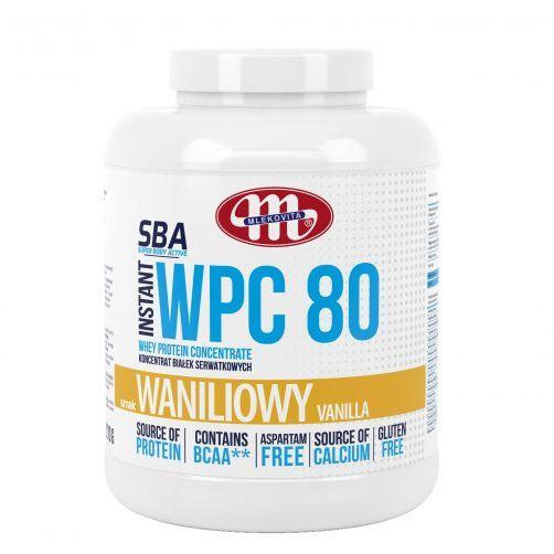 Super Body Active WPC 80 koncentrat białek serwatkowych instant waniliowy 2270 g