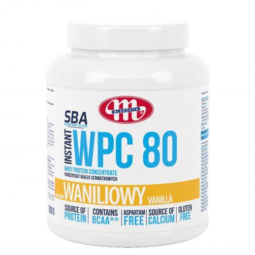 Super Body Active WPC 80 koncentrat białek serwatkowych instant waniliowy 1000 g