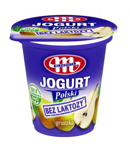 Jogurt Polski bez laktozy gruszkowy 150 g