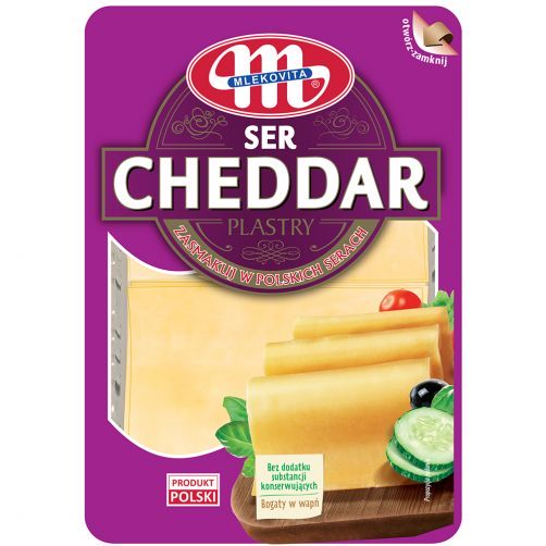 Ser Cheddar plastry 300 g