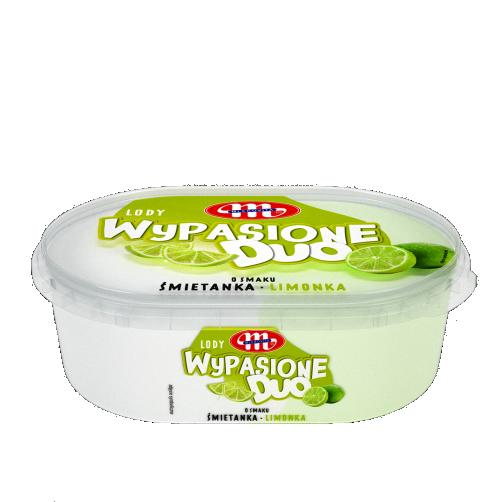 Lody Wypasione Duo 1 L śmietanka-limonka
